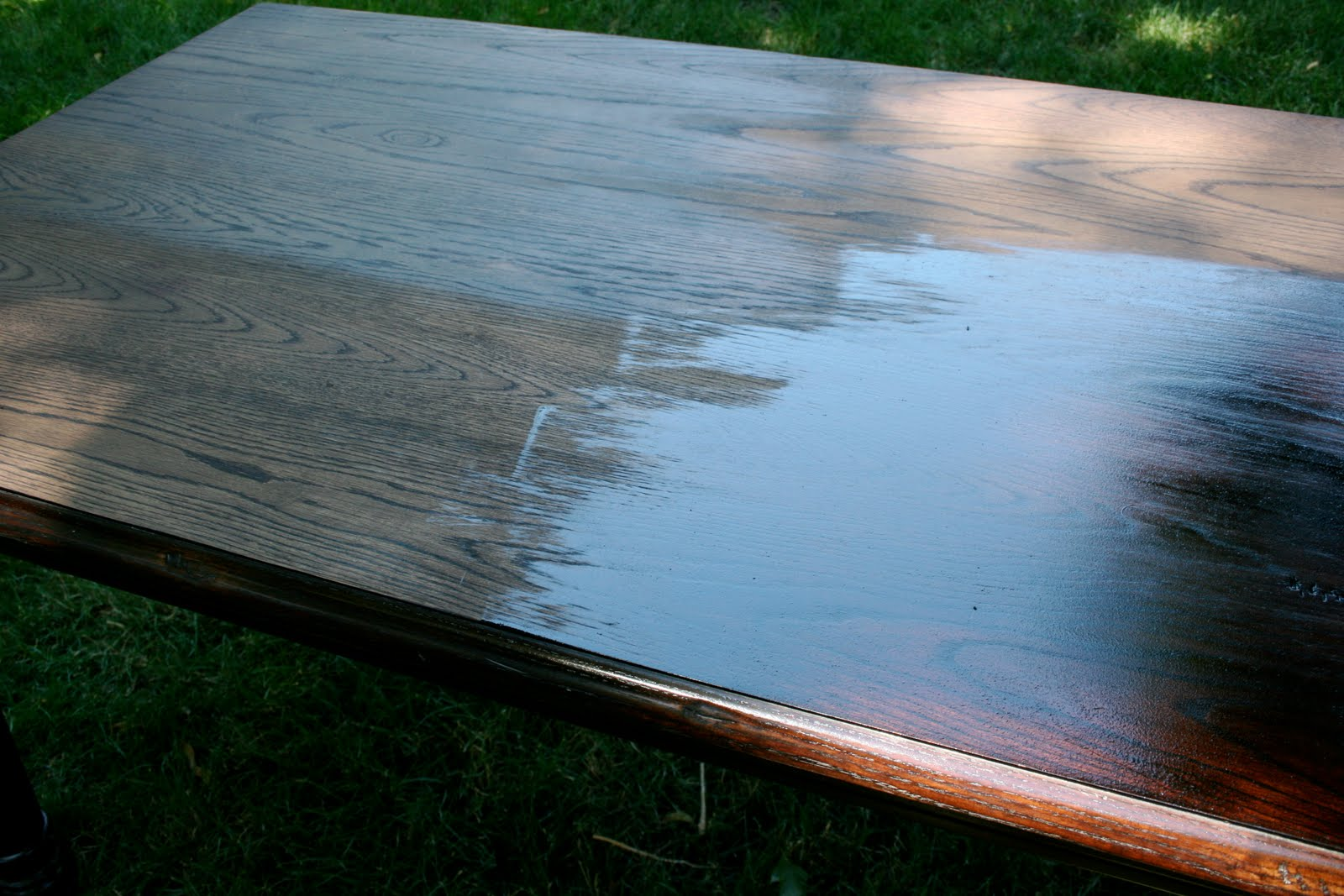 Cherry Dining Room Table Refinishing