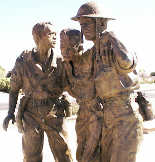 Bataan Memorial Statue, Las Cruces, New Mexico