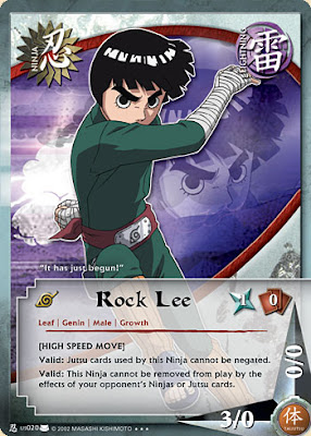 Naruto+Cards+Eternal+Rivalry+N-us020+Rock+Lee+(1st+Edition)