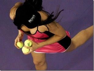 BallGirls Seksi Di Lapangan Tennis