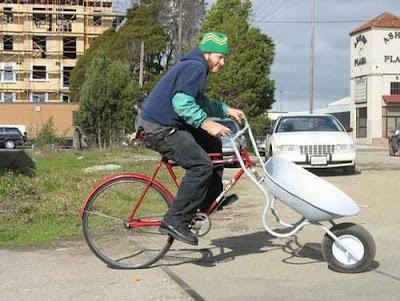 Nuestro querido amigo Feliciano NeO Bicicleta-carretilla