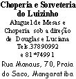 Choperia e Sorveteria do Luisinho