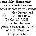 Serra Mar Transportes e Locação de Veículos