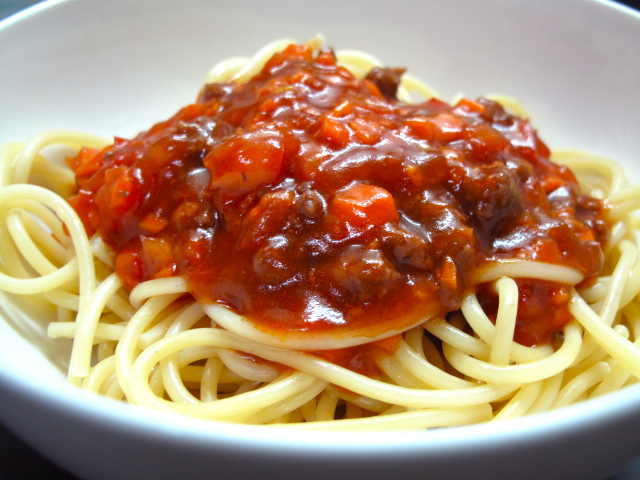 Sweet Style Spaghetti With Carrots