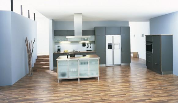 дизайн кухни, интерьер кухни, kitchen design, blue kitchen