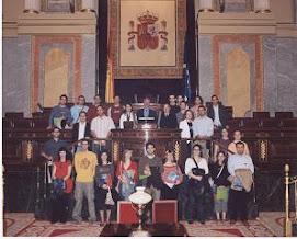 Joves Socialistes Horta Nord en el Congreso de los Diputados