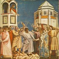 Massacre dos Inocentes, Giotto di Bondone, Cappella Scrovegni, Pádua