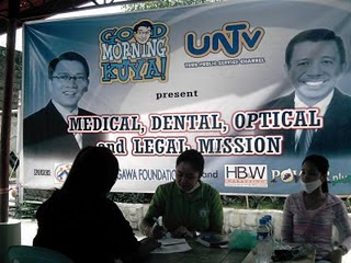 free medical, dental and optical mission