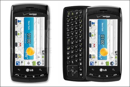 lg ally android. New LG Ally Touchscreen with