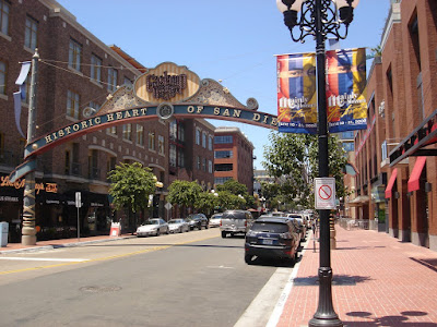 San Diego Gas Lamp Quarter historic buildings