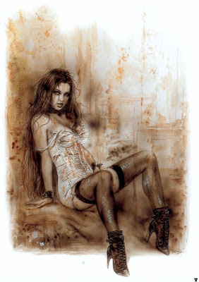 dibujos eroticos, luis royo