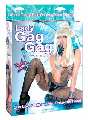 lady gaga hinchable, lady gag gag