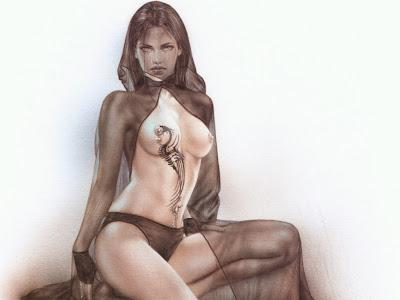dibujos eroticos, luis royo,milo manara,chicas sexy