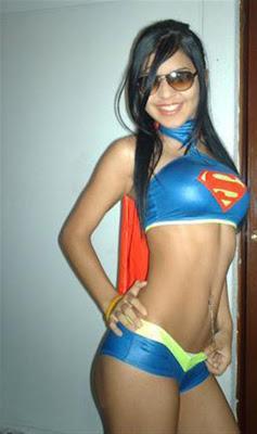 chicas sexy supergirls, superwoman