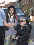 Madonna e a filha conferiram de perto o ensaio de Taylor Momsen para a linha .