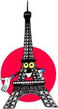 Eiffel Tower Cartoon Picture on Eiffel Tower   Cartoon 2 Jpg