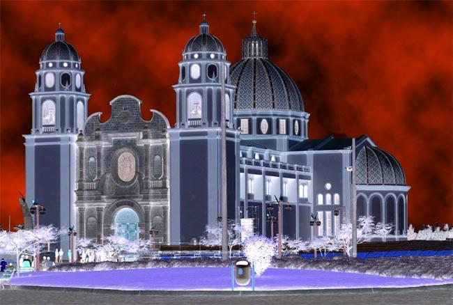 Catedral de Nuevo Chimbote: Design Dark