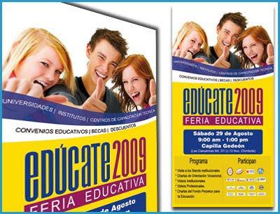 Banner Gigantográfico Edúcate 2009