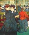 En el Moulin Rouge: dos mujeres bailando (1892) - Henri de Toulouse-Lautrec (28)