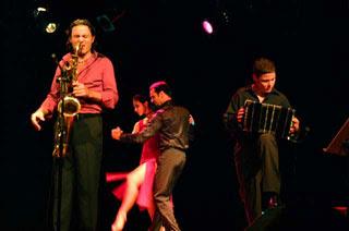 Jazz y tango de la mano de Blas Rivera