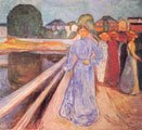 Mujeres sobre el puente (1902) - Edvard Munch (39)