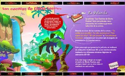 ver web Los cuentos de Gloria Fuertes