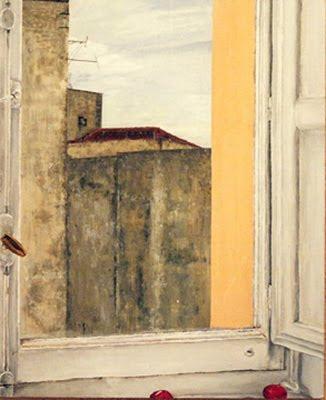 Madrid (acrílico sobre tabla) - obra de Eva Román
