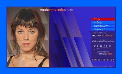 ver web María Cervantes