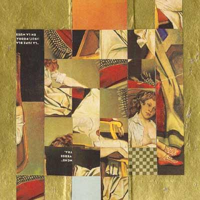 collage creado por pepeworks: la simétrica deconstrucción de la Jupe Blanche