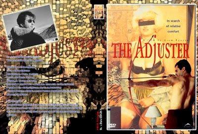 carátula dvd para la película El Liquidador dirigida por Atom Egoyan (diseño: pepeworks)