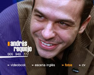 Menú dvd-book actor