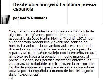 Pepeworks (José Martín Molina) comentado en la revista Babab