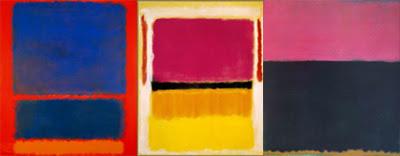 la obra de Mark Rothko