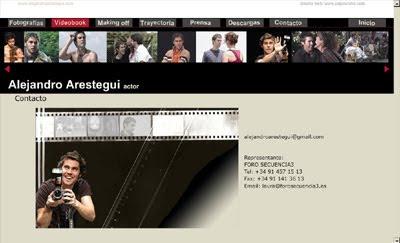 ver web Alejandro Arestegui