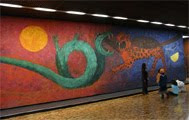 mural para el Museo Nacional de Antropología de Ciudad de México (1964) - Rufino Tamayo (65)