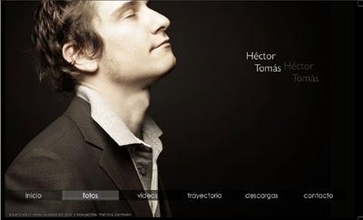 ver web del actor Héctor Tomás