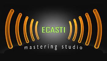 Logo de ecasti.com (Mastering Studio) creado por pepeworks