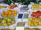 Fruta exhibida en un soporte (1882) - obra de Gustave Caillebotte (34)