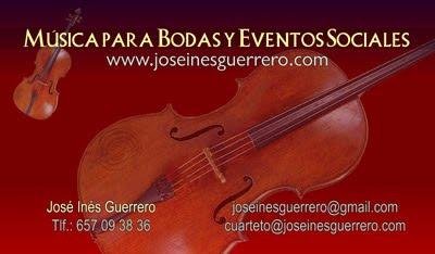 ampliar tarjeta de visita de Música para Bodas y Eventos sociales