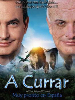 Zapatero y la jubilación a los 67 años: obra de Curi / Return222.com