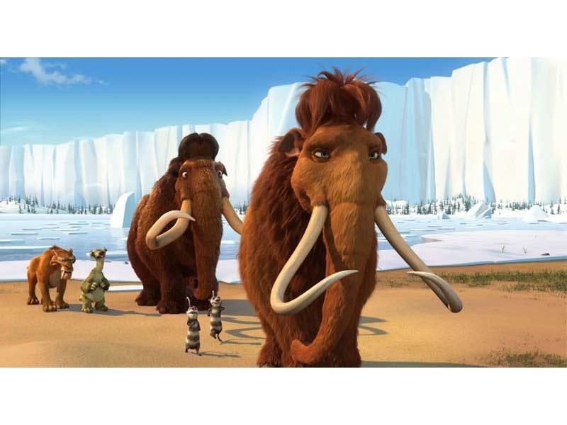 Stuffed Woolly Mammoth