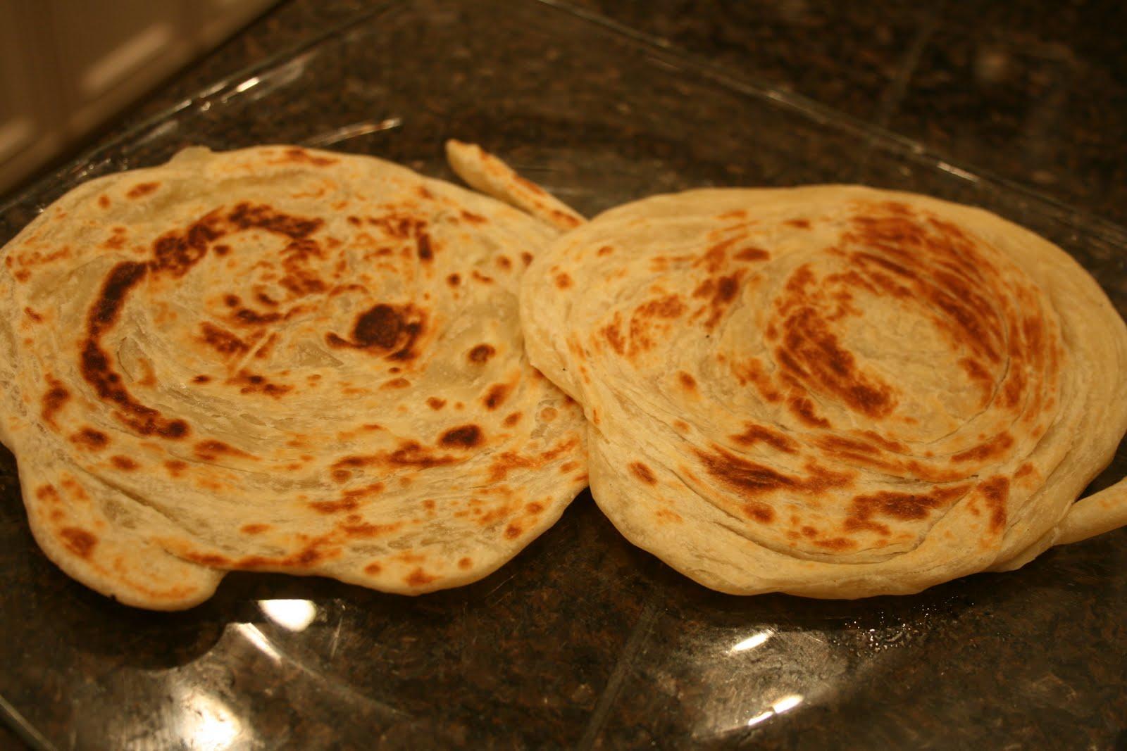 Roti Paratha Kawan Malaysian Paratha Roti Canai