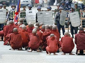 Represión en Birmania