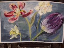 wild tulip, unhappy tulip
