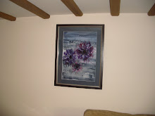 Fading Anemones, framed for