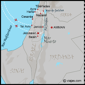 ITINERARIO VIAJE A ISRAEL