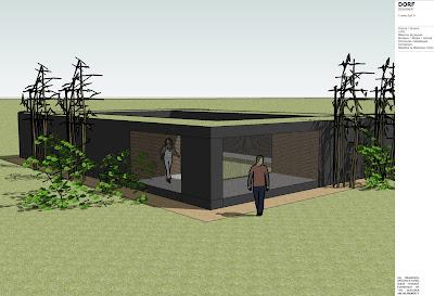 Dorf fr designer d48 maison minimaliste avec patio interieur - Maison avec patio arbre d interieur ...