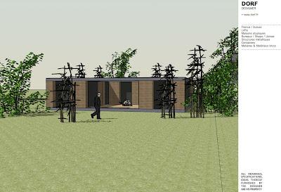 Dorf fr designer d58 patio picardie for Maison container 38