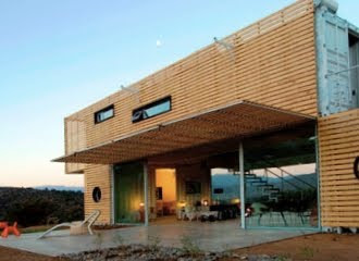 Infiniski model home chile for Maison container 01