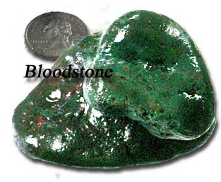 Bloodstone found as a family activity beach combing at Newport, Oregon